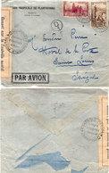 Envelppe Adressée De DABOU (Cote D' Ivoire) A Saint Louis (Sénégal) Cachet : Controle Postal Commission D (110577) - Côte-d'Ivoire (1892-1944)