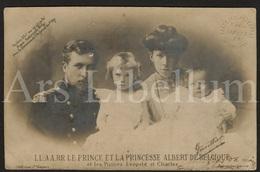 Postcard / ROYALTY / België / Belgique / Reine Elisabeth / Roi Albert I / Prince Leopold / Prince Charles - Familles Royales
