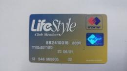 Israel-crediet Card(647)(0016-973)-used Card+1card Prepiad Free - Cartes De Crédit (expiration Min. 10 Ans)