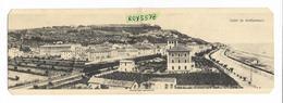 Marche-ascoli Piceno-grottammare Panorama Generale Saluti Da Grottammare Veduta Primi 900 (cart.doppia Form. Picc.) - Altre Città