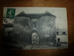 CPA JOIGNY :  La Porte Du Bois - Joigny