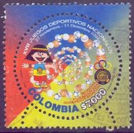 Used Colombia 2004,National Games1V. - Colombia