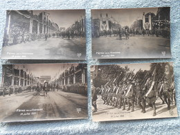 23 CPA  Photo Guerre14-18 1wk Ww1 Wk1 Fêtes De La Victoire Juillet 1919 Paris - Guerre 1914-18