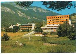 Cpsm Villars Colmars - Colonie De Vacances C.P.S.S. De Marseille - France