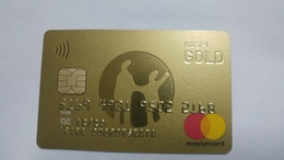 Kazakhsten-crediet Card(648)(2168-454)-used Card+1card Prepiad Free - Cartes De Crédit (expiration Min. 10 Ans)