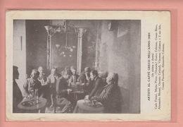 RARE OLD POSTCARD  CHESS - SCHACH - ARTISTI AL CAFE GRECO  - ROMA - ITALY - Chess