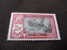 TIMBRE  INDE   N  102        COTE  1,80  EUROS    NEUF  TRACE  CHARNIÈRE - India (1892-1954)