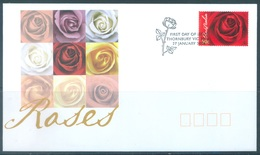 AUSTRALIA  - FDC - 27.1.2006 - ROSES - Yv 2406- Lot 18582 - Premiers Jours (FDC)