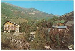 Cpsm Colmars Les Alpes - Hôtel Du Torrent ... Le Hameau De Chaumie - France