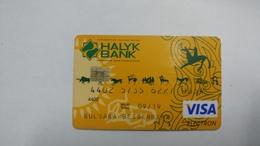 Kazakhsten-crediet Card(651)(0654-811)-used Card+1card Prepiad Free - Cartes De Crédit (expiration Min. 10 Ans)