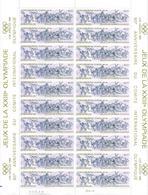 FRANCE - TRES BELLE FEUILLE DE 20 TIMBRES NEUFS * * N°2314   --OLYMPIQUE DE LOS ANGELES  1984 - Full Sheets