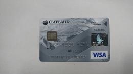 Kazakhsten-crediet Card(652)(8691-641)-used Card+1card Prepiad Free - Cartes De Crédit (expiration Min. 10 Ans)