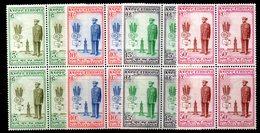 ETP1 - ETIOPIA 1955 , Yvert Serie In Quartina Yvert N 339/342  ***  MNH  GIUBILEO - Etiopia
