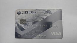 Russia-crediet Card(653)(5593-300)-used Card+1card Prepiad Free - Cartes De Crédit (expiration Min. 10 Ans)