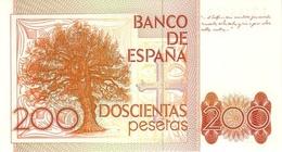 SPAIN P. 156 200 P 1980 UNC - [ 4] 1975-… : Juan Carlos I