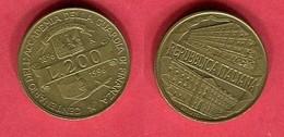 200 LIRE   (KM  )  TB+ 3 - Commémoratives
