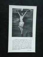 Alberic Vandenberghe - Marchand Geboren Te Woumen 1906 En Overleden Te Thorhout 1937  (2scans) - Religion & Esotérisme