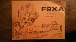 Carte QSL - F9XA - Muret (31) - Très Belle Illustration - Radio Amateur
