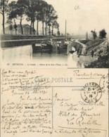 D - [507476]France  - (62) Pas De Calais, Bethune, Le Canal, Entrée De La Gare D'eau, Bateaux - Bethune