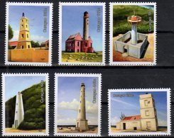 CURACAO, 2018, MNH, LIGHTHOUSES,6v - Lighthouses
