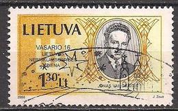 Litauen  (2000)  Mi.Nr.  722  Gest. / Used  (5ad05) - Lithuania