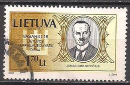 Litauen  (2000)  Mi.Nr.  723  Gest. / Used  (5ad06) - Lithuania