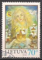 Litauen  (1998)  Mi.Nr.  680  Gest. / Used  (5ad04) - Lithuania