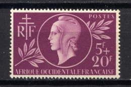 AOF - 1* - ENTRAIDE FRANCAISE - Neufs