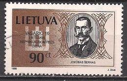 Litauen  (1998)  Mi.Nr.  659  Gest. / Used  (5ad07) - Lithuania