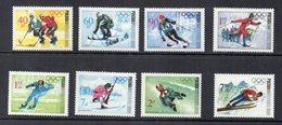 Polonia - 1968 - Olimpiadi Invernali Di Grenoble - 8 Valori - Nuovi - (FDC13281) - Inverno1968: Grenoble