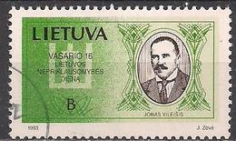 Litauen  (1993)  Mi.Nr.  517  Gest. / Used  (5ad08) - Lithuania