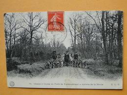 Lot N° 6 -- 12 CPA Sur La CHASSE à COURRE à FONTAINEBLEAU  -- TOUTES ANIMEES -- Voir Les 12 Scans -- A SAISIR  !! - Postcards