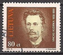 Litauen  (1994)  Mi.Nr.  551  Gest. / Used  (5ad09) - Lithuania