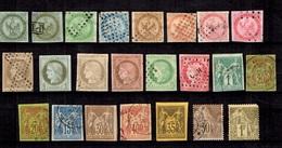 Colonies Générales Belle Petite Collection 1859/1881. Bonnes Valeurs. A Saisir! - France (former Colonies & Protectorates)