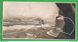 Golfo Napoli Rassegna Navale Regia Marina Corazzata Cavour 1938 Navires Navy - Guerre, Militaire