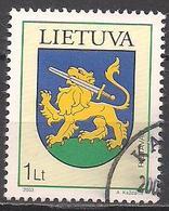 Litauen  (2003)  Mi.Nr.  813  Gest. / Used  (5ad10) - Lithuania