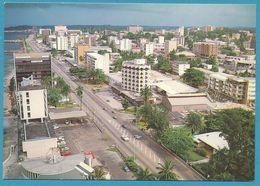 GABON - LIBREVILLE - Vue Aérienne Du Boulevard De L'Indépendance - Gabon