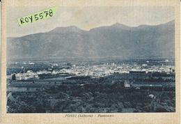 Lazio-latina-fondi Littoria Panorama Veduta Panoramica Fondi Primi Anni 40 (vedi Timbro Retro) - Autres Villes