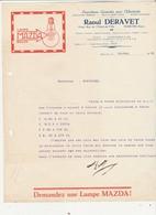 Marche - Raoul Deravet - Ampoule Lampe MAZDA - Electricité - Electricity & Gas