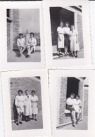 Lots De 4 Photos De  Femmes Formats 8x5,7 - Personnes Anonymes