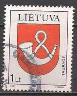 Litauen  (2000)  Mi.Nr.  740  Gest. / Used  (5ad11) - Lithuania