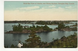 HONEY HARBOUR, Ontario, Canada, BEV Of Islands, Georgian Bay, Pre-1920 Bald Photo Postcard, Muskoka County - Ontario