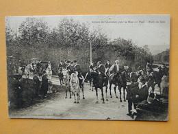 Lot N° 7 -- 10 CPA Sur La CHASSE à COURRE Toute FRANCE  -- TOUTES ANIMEES -- Voir Les 10 Scans -- A SAISIR  !! - Postcards