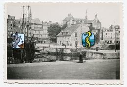HONFLEUR  14600 14 Normandie Bretagne Photo Ancienne 50s 40s Bateau Voilier Port - Lieux
