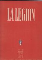 LA LEGION / N 31 / DECEMBRE 1943 / PRESIEDENT PHILIPPE PETAIN - 1900 - 1949