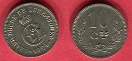 10 CENT   (KM 34 )  TTB+ 2 - Luxembourg