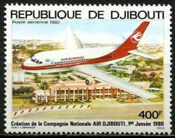 Djibouti, PA N° 140** Y Et T - Djibouti (1977-...)