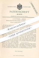 Original Patent - B. Tettweiler , Berlin , 1890 , Schnurrolle Für Rollvorhang- U. Rolladen - Stangen   Gardine , Vorhang - Documenti Storici