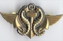 Insigne Nageur De Combat Commando Marine - Marine