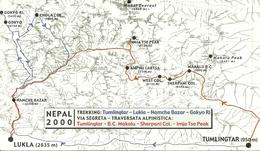 """Nepal, Ass. """"Amici Dell'Himalaya - Bologna"""" Traversata Alpinistica E Trekking Himalayano 2000 - Nepal"""